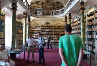 Biblioteka klasztorna w Broumov