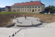 Piotr w amfiteatrze Ogrodu Biblijnego